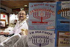 """They destroyed the oldest Jewish quarter in France in a matter of five years,"" said Michel Kalifa, a kosher butcher in the rue des Rosiers district of Paris."
