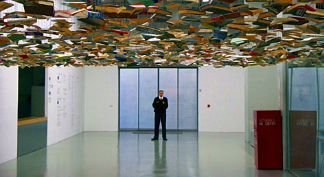 New chapter in culture: An installation of floating books at the Istanbul Modern, the city's first modern-art museum. It opened three years ago and attracts about 1,200 visitors a day.