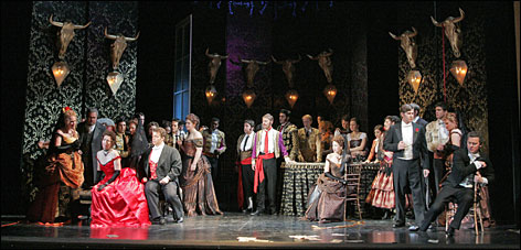 The Central City Opera performed La Traviata in 2007. This summer's schedule includes The Rape of Lucretia and West Side Story.