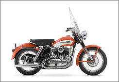 Elvis Presley's 1956 Model KH will be on display this summer at the Harley-Davidson Museum in Milwaukee.