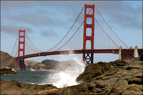 Golden Gate Park is one of many must-sees in the Bay Area.