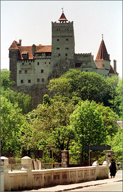 Transylvania's Bran Castle (admission: $5) has been used in the filming of several Dracula movies.