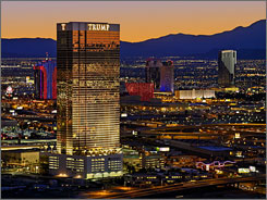 Just off the Strip: The smoke-free Trump International Hotel & Tower doesn't have a casino, but it certainly doesn't scrimp on service.