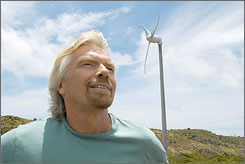 British billionaire Richard Branson said his Mosquito Island property will be the most environmentally-friendly resort on the globe.