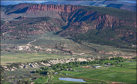 ROCKY MOUNTAIN HIGHS: The range provides stunning views from every direction.