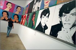 The Andy Warhol Museum, located in Pittsburgh's North Shore, is the largest single-artist museum in the world.