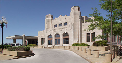 Examples of Tulsa's Art Deco architecture, such as the Tulsa Union Depot, are showcased in the July/August edition of Preservation magazine.