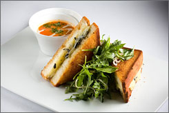 The Gossip Grill: This grilled cheese sandwich from Gilt in New York City goes for $50.