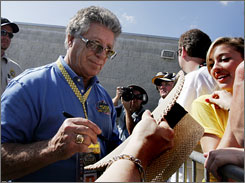 Mario Andretti will help celebrate the 35th anniversary of the Rolex Monterey Historic Automobile Races.