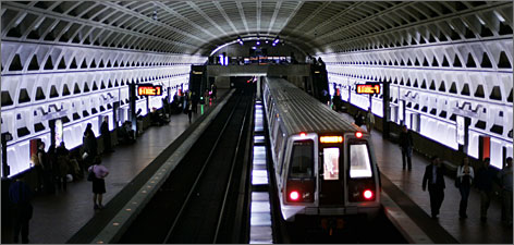 The Metrorail system provides easy access to most of Washington's free museums and attractions.