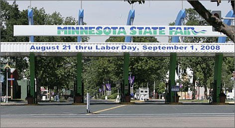 """Theodore Roosevelt first used his """"speak softly and carry a big stick"""" line at the Minnesota state fairgrounds in 1901."""