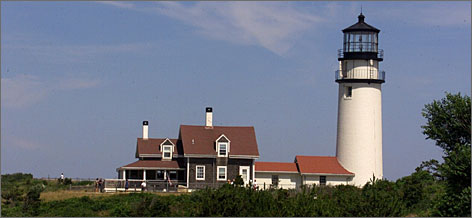 Beacon for all: The Highland Lighthouse, which was completed in 1857, is a working lighthouse that is open for tours daily and Sunday from mid-May until mid-October.