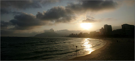 Rio de Janeiro's beaches are pretty much accessible all year round and many travelers spend their entire time in the city there.