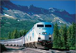 Amtrak's service in the western U.S. is characterized by delays and low frequency.