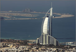 Dubai's Burj Al Arab is one of the most expensive hotels in the world.