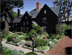 Salem, Mass., gets 30% of its annual tourist visitation in October. At the House of the Seven Gables, there are tours and dramatic presentations about the families who inspired Nathaniel Hawthorne's famous novel.