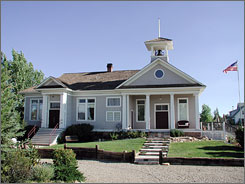 In Cortez, Colo.: The Lebanon Schoolhouse B&B was originally a school in 1907.