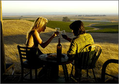 """The Land of Wine and Food"" website offers a self-guided itinerary to see wineries featured in the film Bottle Shock."