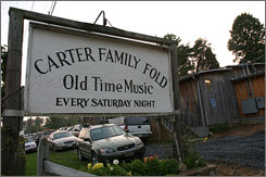 The Carter Family's musical legacy lives on at the Memorial Music Center in Hiltons, Va.