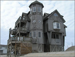 "No rooms at this ""inn"": Nights in Rodanthe was shot near the Hatteras Island village, Outer Banks."