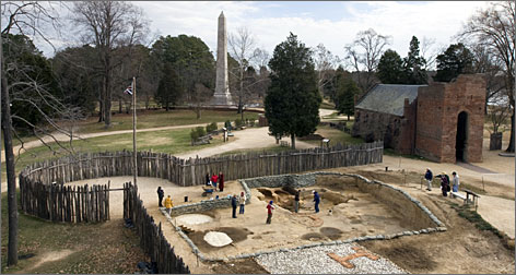 In Virginia: Historic Jamestowne hosts a variety of special archaeological programs for families this Saturday, starting at 9 a.m.