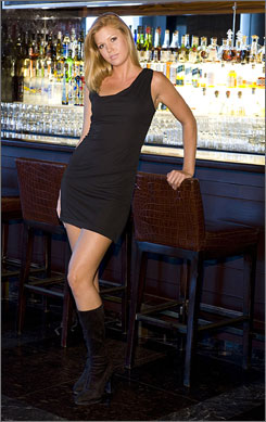 Gwen Stefani-designed uniforms are a perfect fit for bar staff at Rande Gerber's lounges in select W hotels.