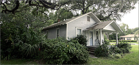 Authors come to Orlando to live and work in Jack Kerouac's small, tin-roofed house for three-month stints.