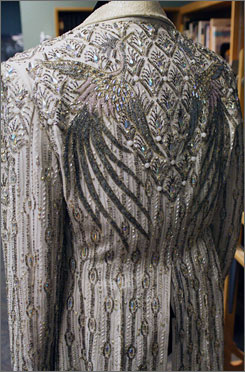 Wisconsin native Liberace wore this elaborately beaded jacket during performances in the late 1970s.