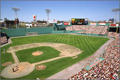 Boston's Fenway Park is one of America's last original ballparks.