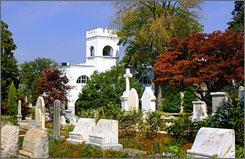 View the final resting place for Civil War soldiers and notable Atlantans like golfer Bobby Jones and novelist Margaret Mitchell at the Historic Oakland Cemetery.
