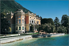 Grand Hotel a Villa Feltrinelli, Gargnano: This imposing, crenellated villa commands the shores of Italy's Lake Garda. Designers from around the world have had a hand in turning Villa Feltrinelli into one of the most exquisitely restored and perfectly realized small hotels on the planet.