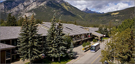 Banff Park Lodge: Year-round opportunities for outdoor recreation abound in this Canadian park.