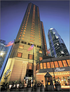 The Fairmont Chicago: The hotel is near Millennium Park, both a green space and a cultural hub.
