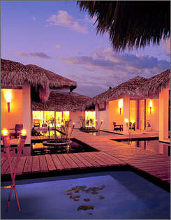 """Dream"" vacation: A sybaritic spa (massages cost extra) awaits at Dreams Punta Cana Resort & Spa."