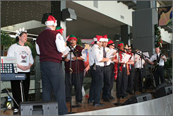 At Austin-Bergstrom International Airport, keep an eye out for a performance by the local TSA Choir.