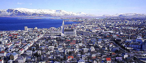 Reykjavik's low-rise skyline is dominated by the Hallgrimskirja, a soaring Lutheran church. Once one of Europe's priciest countries for foreign visitors, Iceland is now on sale.