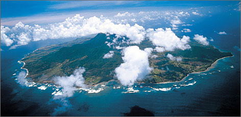 Caribbean haven: Nevis is smaller than St. Kitts, known as the &quot;Mother Island.&quot;