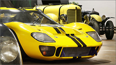 Fred Simeone's collection of vintage racing cars runs from big, boxy antiques to sexy, streamlined sportsters. More than 60 of the cars are now on view at his museum in Philadelphia.