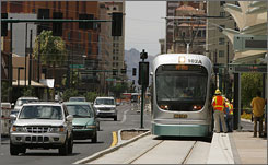 Phoenix's $1.4 billion Metro Light Rail debuts Dec. 27, and  will be free for the first two days. The grand opening will have music, activities and exhibits at stops along the track