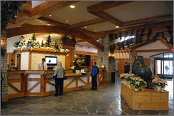 Michigan's Boyne Mountain resort is modeled after a Swiss-Austrian village; its Mountain Grand Lodge and Spa opened three years ago. There's also an indoor park with waterslides, a wet climbing wall and a surf simulator.