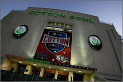 Cotton Bowl, Dallas: Big game, big parties.