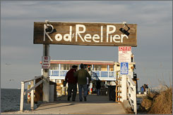 Fish and chips: The Rod & Reel Pier on the northern tip of Anna Maria Island is home to an affordable seafood restaurant and a great spot to angle for snook and redfish.