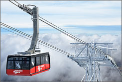 In Wyoming: Jackson Hole's new aerial tram is bigger and faster than its predecessor.