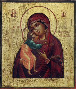 "For the ""Two Museums, One Culture"" exhibit, the Museum of Russian Icons in Clinton, Mass., was loaned some of Russia's most precious icons."