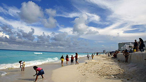 Go international: Mexico has five spots in the top 10, including Cancun at No. 2. Agents say there are exceptional values to be had.