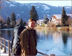 Say cheese: Greg Hughes was backpacking through Switzerland when he fell for fondue. He made a second trip with his bride, and they now own a fondue restaurant in Kansas City, Mo. 