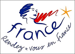 The new French tourism logo features Marianne, an allegorical figure and national symbol since the French Revolution, as she looks toward the future.