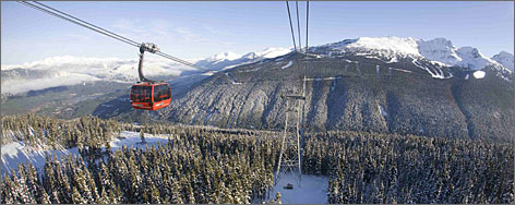 Whistler Blackcomb, British Columbia: The slopes are among the world's best.