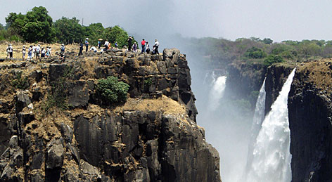 "Actor Hill Harper on Zimbabwe's Victoria Falls: ""It is probably the most beautiful and romantic place in the world."""