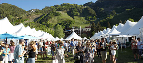 In Aspen, Colo.: The annual Food & Wine Classic should see good attendance, even though ticket prices  $1,085 for the three-day event  have gone up.